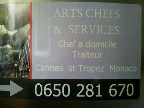 arts chefs et services Le Cannet