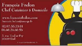 François Frelon Chef Cuisinier à Domicile étel