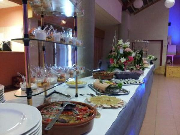 Un buffet de mariage
