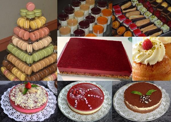 Nos desserts :<br /> <br /> Bavarois aux fruits, au deux chocolats, Panna- Cotta, Baba au rhum, Pi&egrave;ce mont&eacute;e de macarons, tarte aux pommes...<br />