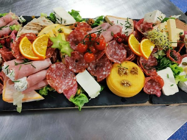 Ardoise fromage charcuterie