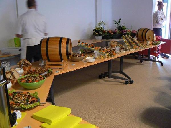 Buffet de la filière bois, chambre des métiers du lot à GOURDON 46300