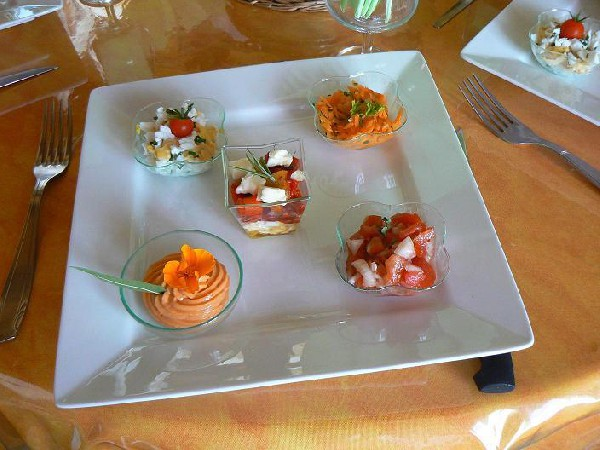 variations d'hors d'oeuvres